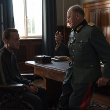 A Hidden Life: Bruno Ganz, August Diehl in una scena del film