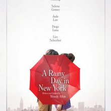 A Rainy Day in New York: il poster del film diretto da Woody Allen