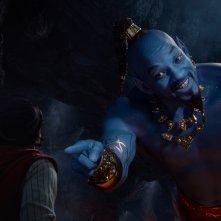 Aladdin:  Will Smith in un momento del film
