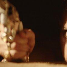 Bacurau: Silvero Pereira in una scena del film