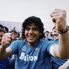 Diego Maradona: un primo piano di Diego Maradona nel documentario