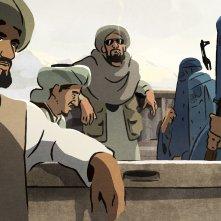The Swallows of Kabul: un'immagine del film