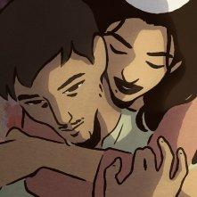 The Swallows of Kabul: una scena del film d'animazione