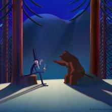 La famosa invasione degli orsi in Sicilia: un'immagine del film d'animazione