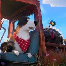 Pets 2 - Vita da Animali: Rooster, il personaggio doppiato da Harrison Ford