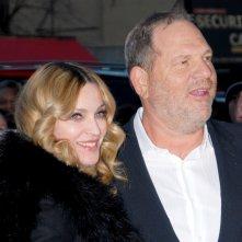 Madonna in una foto con Harvey Weinstein