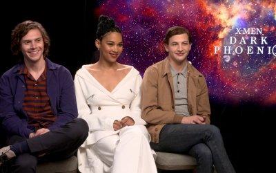 X-Men: Dark Phoenix: con Alexandra Shipp, Evan Peters e Tye Sheridan all'ombra della Fenice