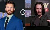 Toy Story 4: Chris Evans è il più grande fanboy di Keanu Reeves