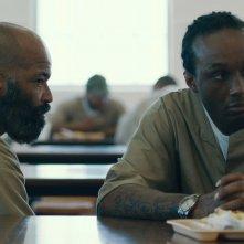 O.G. - Original Gangster: Jeffrey Wright e Theothus Carter in una scena del film