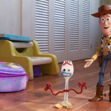 Toy Story 4: Woody e Forky