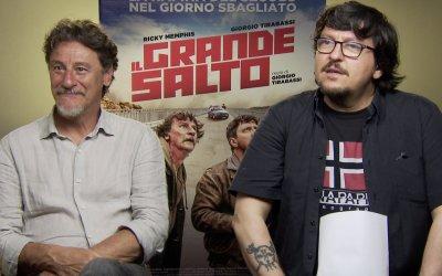"""Ricky Memphis su Il grande salto: """"Giorgio Tirabassi è un bravo regista perché è un grande attore"""""""