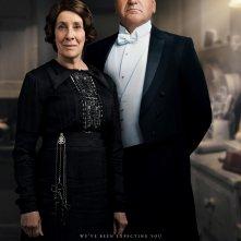 Downton Abbey: il poster di Charles ed Elsie