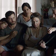Il Segreto di una famiglia: Bérénice Bejo, Graciela Borges, Martina Gusman, Edgar Ramírez in una scena