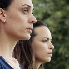 Il Segreto di una famiglia: Martina Gusman insieme a Bérénice Bejo durante una scena