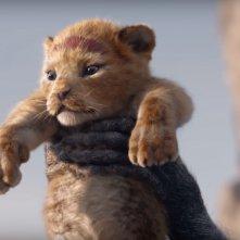 Il Re Leone: una tenera immagine di Simba