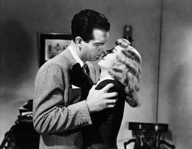 Fred Macmurray And Barbara Stanwyck In Double Indemnity