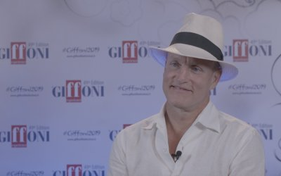 """Woody Harrelson al Giffoni Film Festival 2019: """"Voglio interpretare Oprah!"""""""