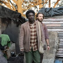 The Red Sea Diving Resort: Chris Evans con Michael Kenneth Williams in una scena