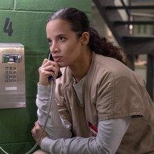 Orange Is the New Black: Dascha Polanco in una scena della settima stagione