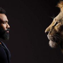 Il Re leone: Donald Glover in un'immagine promozionale
