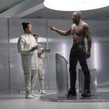 Fast & Furious - Hobbs &  Shaw: Idris Elba in  una scena del film