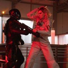 Fast & Furious - Hobbs &  Shaw: Vanessa Kirby in una scena d'azione