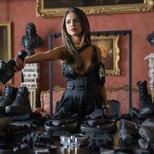 Fast & Furious - Hobbs &  Shaw: Eiza González durante una scena del film