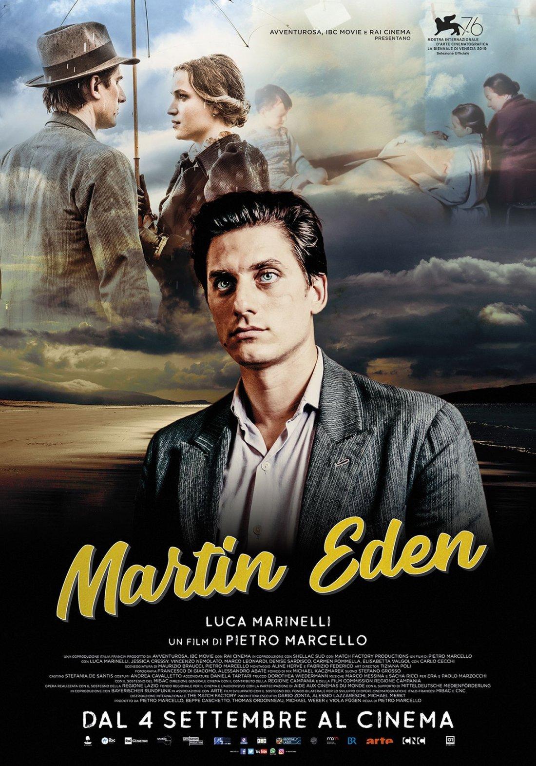Martin Eden Poster