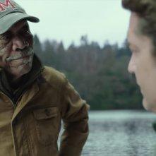 Attacco al potere 3 - Angel Has Fallen: una scena del film con Morgan Freeman