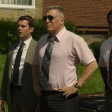 Mindhunter: Albert Jones, Jonathan Groff e Holt McCallany in una scena della seconda stagione