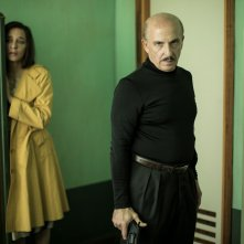 5 è il numero perfetto: Valeria Golino e Carlo Buccirosso in  una scena del film
