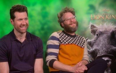 """Il Re Leone, Seth Rogen e Billy Eichner sono Pumbaa e Timon: """"Se guardiamo le stelle pensiamo al box office"""""""