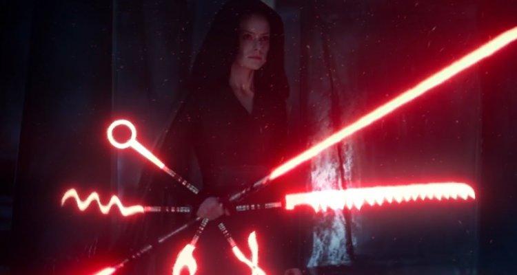 Star Wars L Ascesa Di Skywalker Rey E La Spada Laser