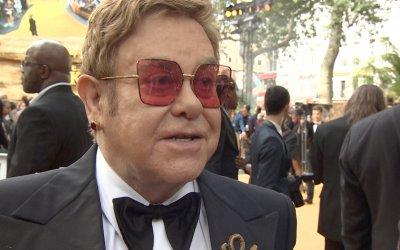 """Il re leone, il red carpet a Londra con Elton John: """"È un classico senza tempo"""""""