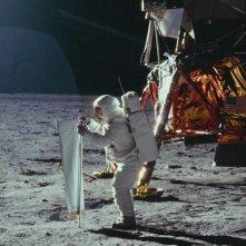 Apollo 11: lo sbarco sulla Luna in una scena del documentario