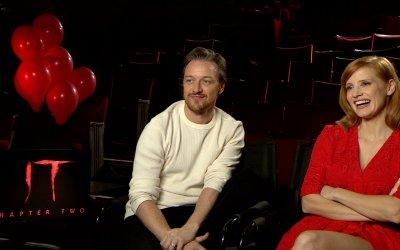 "Jessica Chastain e James McAvoy, protagonisti di IT2: ""I veri mostri oggi sono i bulli"""