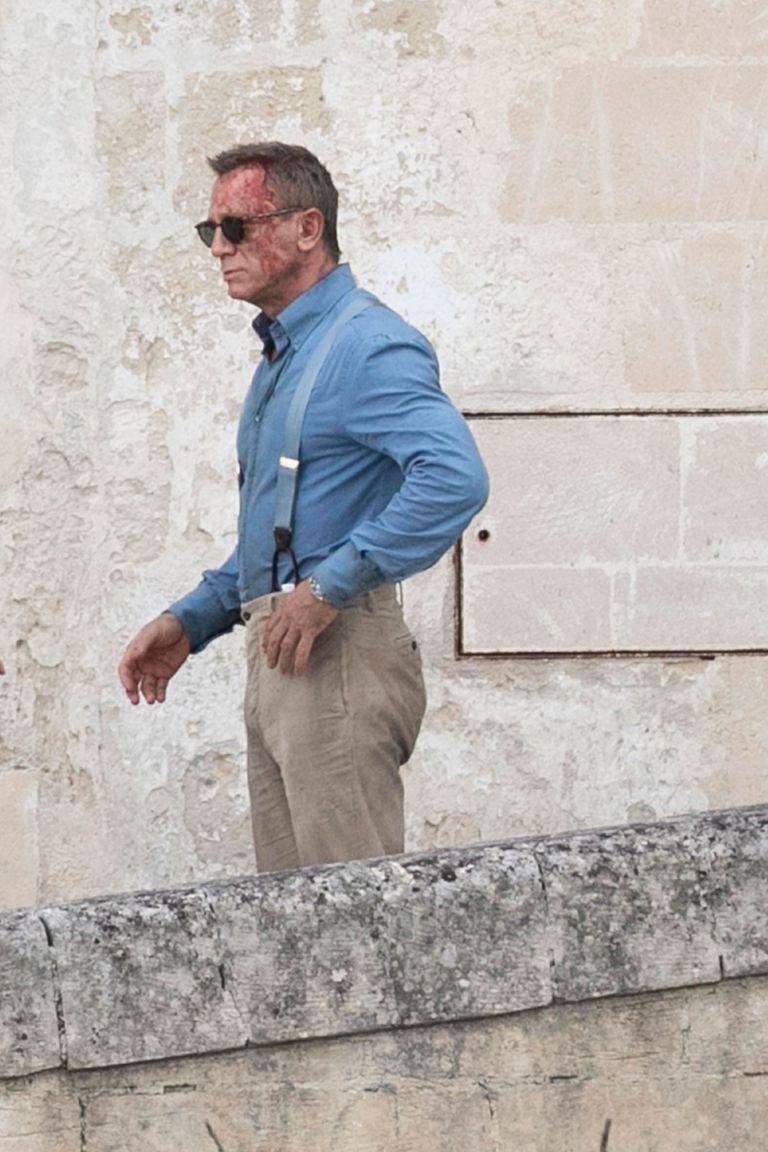 Daniel Craigi No Time To Die Matera