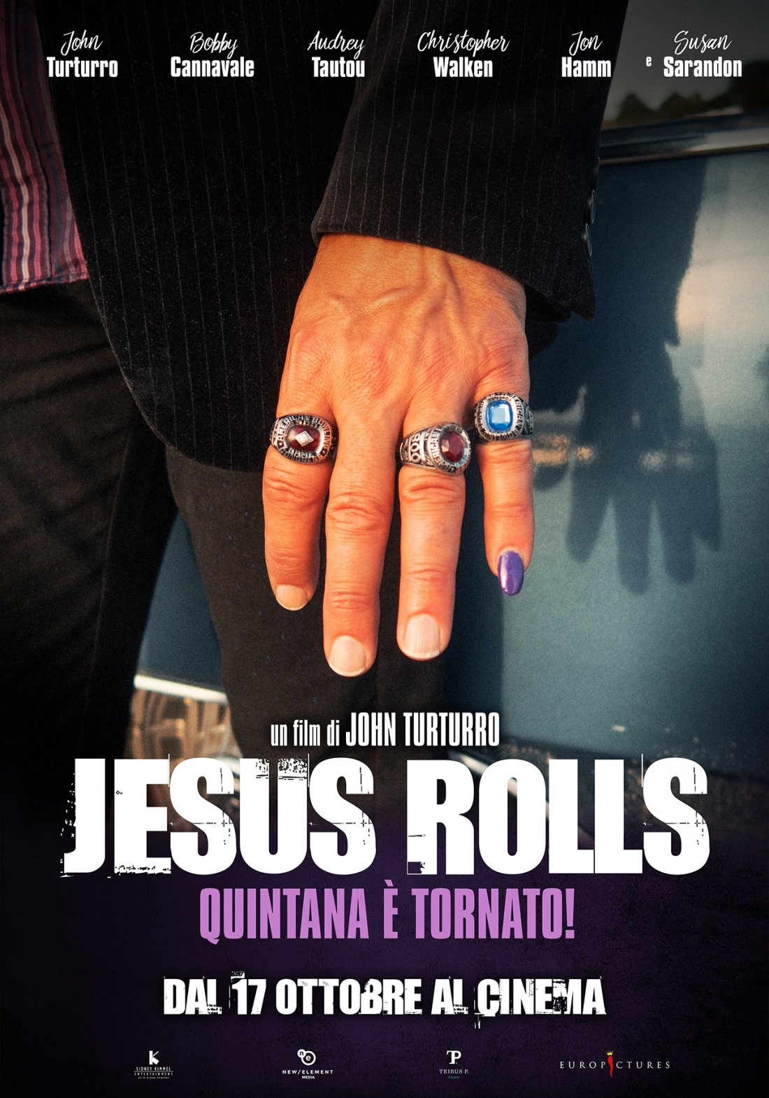 Jesus Rolls Poster Italiano