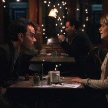 C'è posta per te: Tom Hanks e Meg Ryan in una scena del film