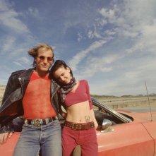 Assassini Nati: Woody Harrelson e Juliette Lewis nel film