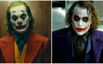 Joker allo specchio: Joaquin Phoenix e Heath Ledger, due sfumature di follia