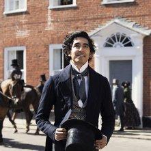 The Personal History of David Copperfield: Dev Patel in una scena del film