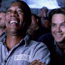 Le ali della libertà: Tim Robbins e Morgan Freeman