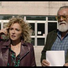 Tutto il mio folle amore: Valeria Golino insieme a Diego Abatantuono in una scena