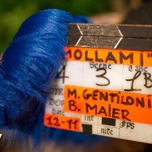 Mollami: un'immagine dal set