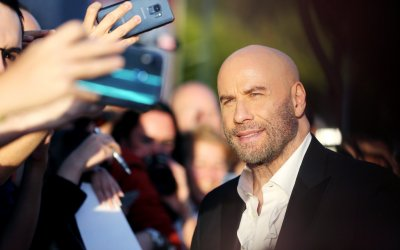 "The Fanatic, John Travolta a Roma: ""Un ruolo unico tra quelli che ho interpretato"""