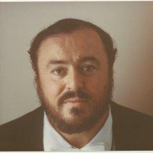 Pavarotti: un primo piano di Luciano Pavarotti
