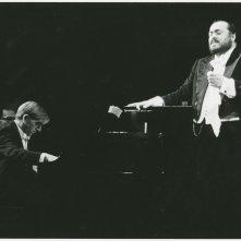 Pavarotti: una foto d'archivio