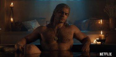 The Witcher Henry Cavill Nudo Vasca Da Bagno C4Hph3S
