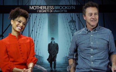 """Edward Norton su Motherless Brooklyn: """"Non vorrei discutere con Alec Baldwin nella vita reale!"""""""